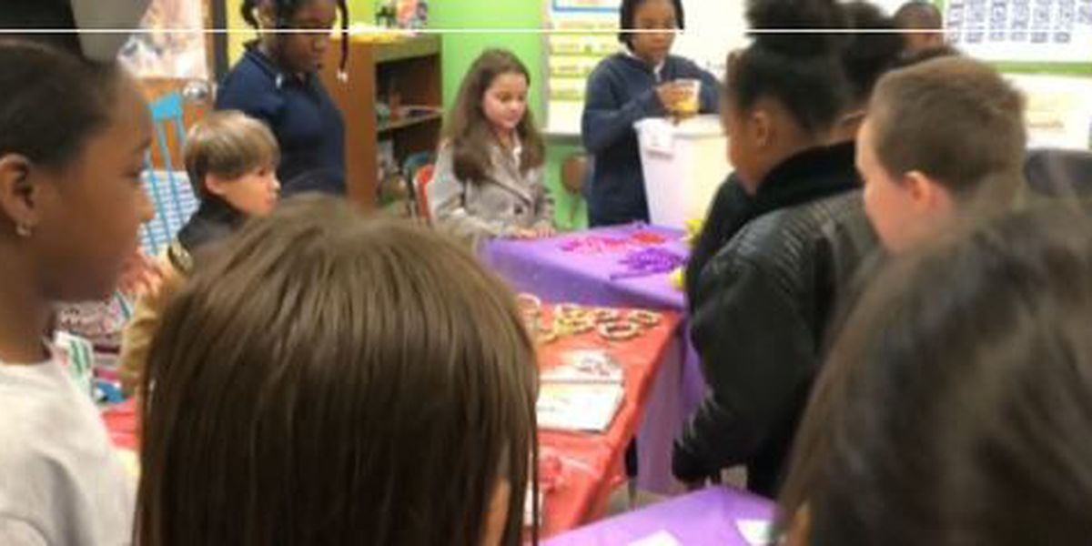 Escatawpa Elementary students raise money to fight cancer