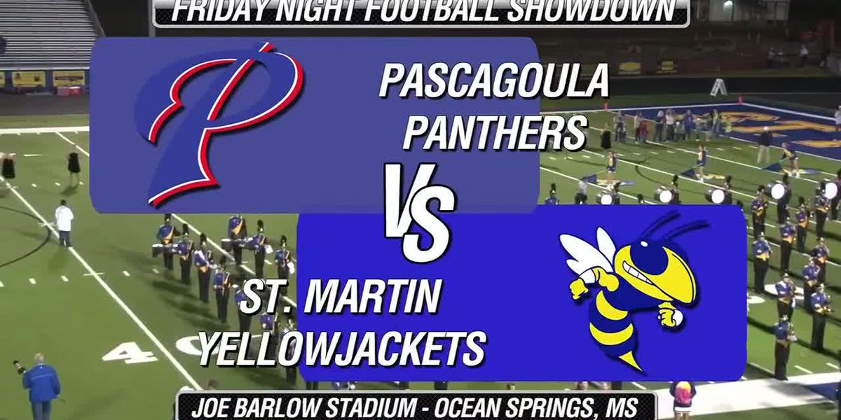 FULL GAME BROADCAST: Pascagoula vs St. Martin in the WLOX Game of the Month