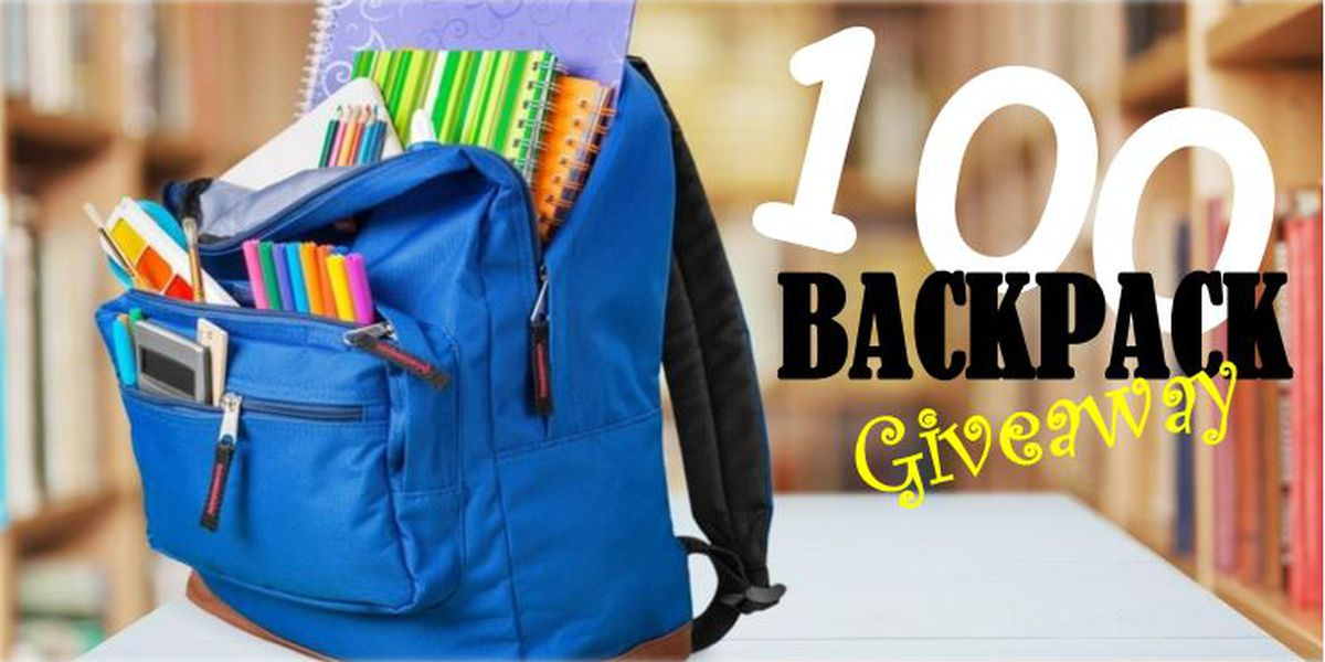 Backpacks, school supply giveaway happening in Biloxi