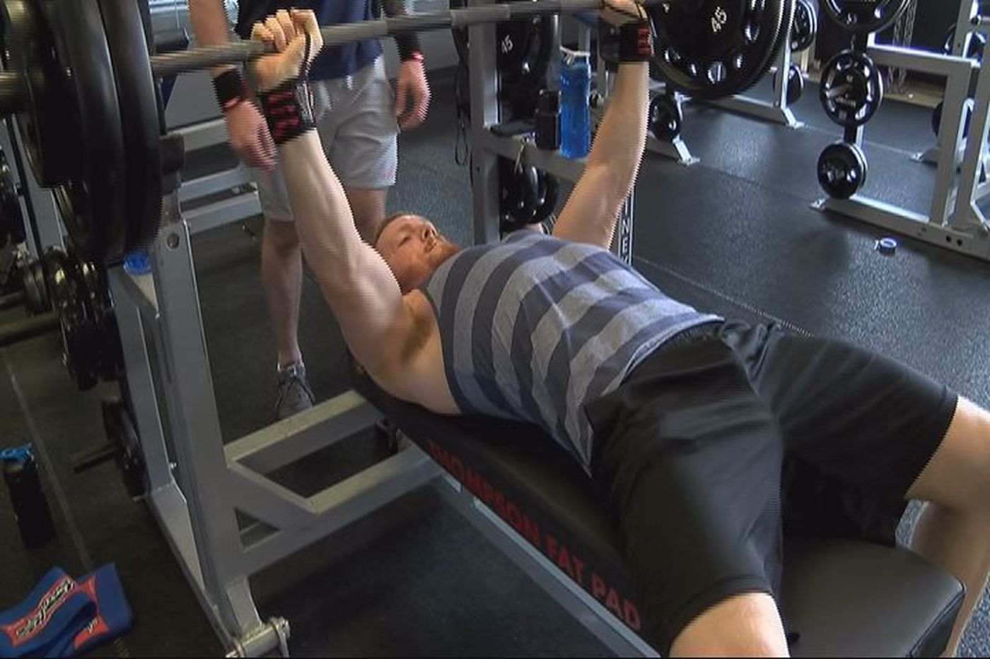 Bodybuilding has become addictive in a positive way for a Gulfport