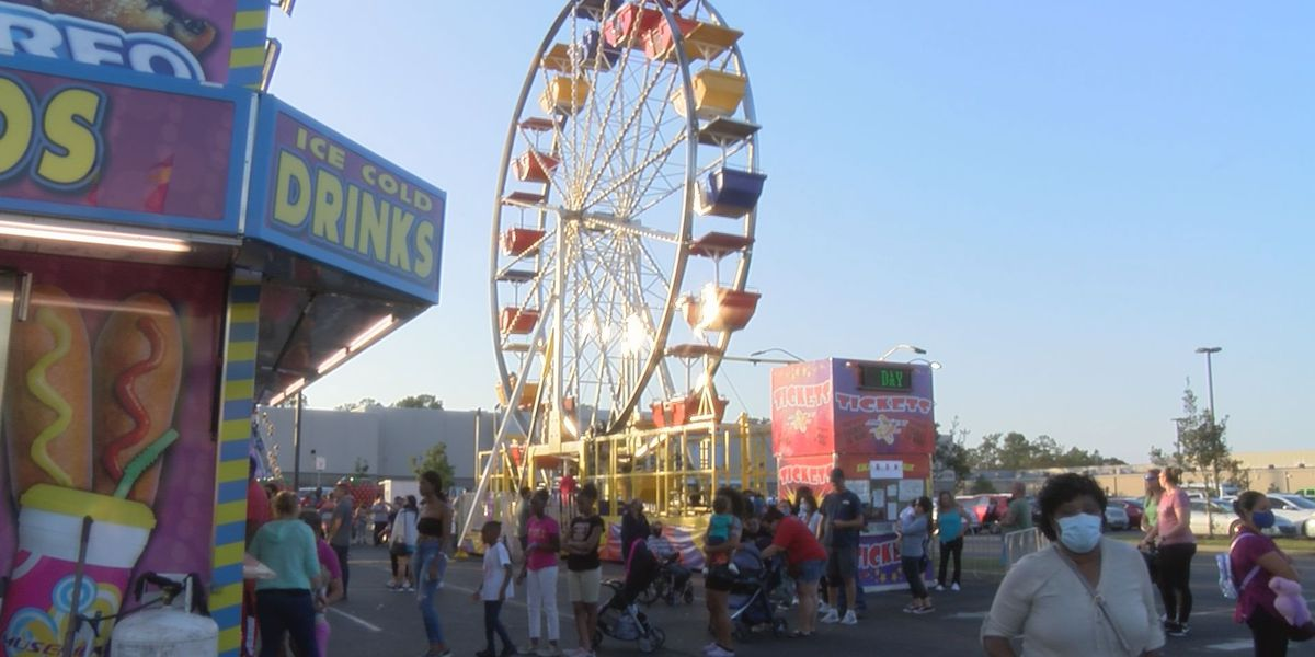 Families escape stresses of COVID at Grand Fair in D'Iberville