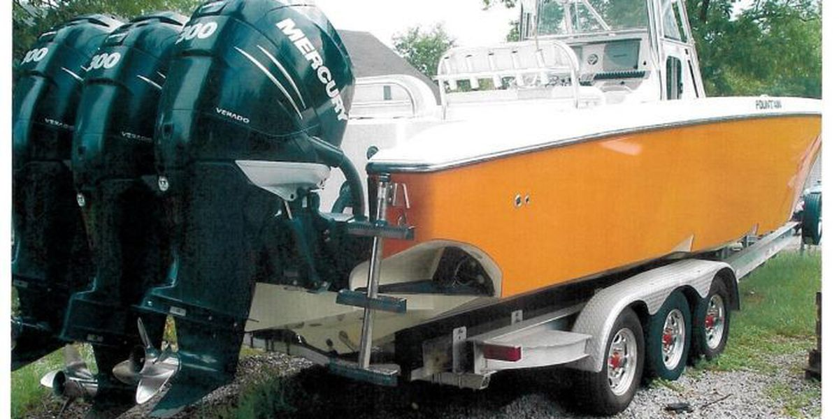 Man accused of possessing, transporting stolen boat arrested by FBI