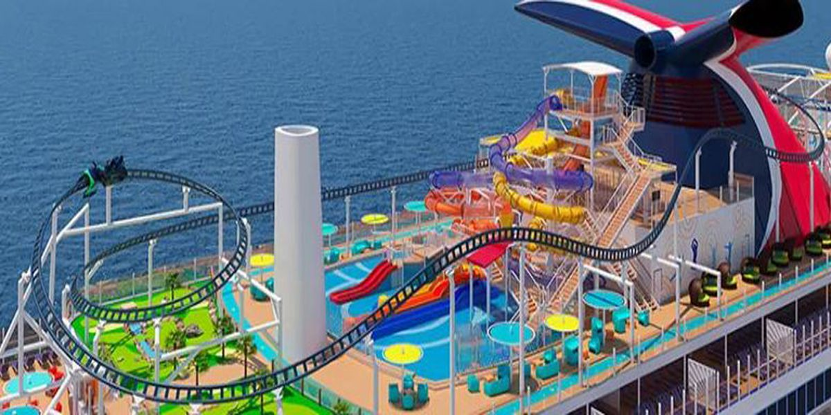 New renderings of Carnival Cruise Line's 'Mardi Gras' ship released