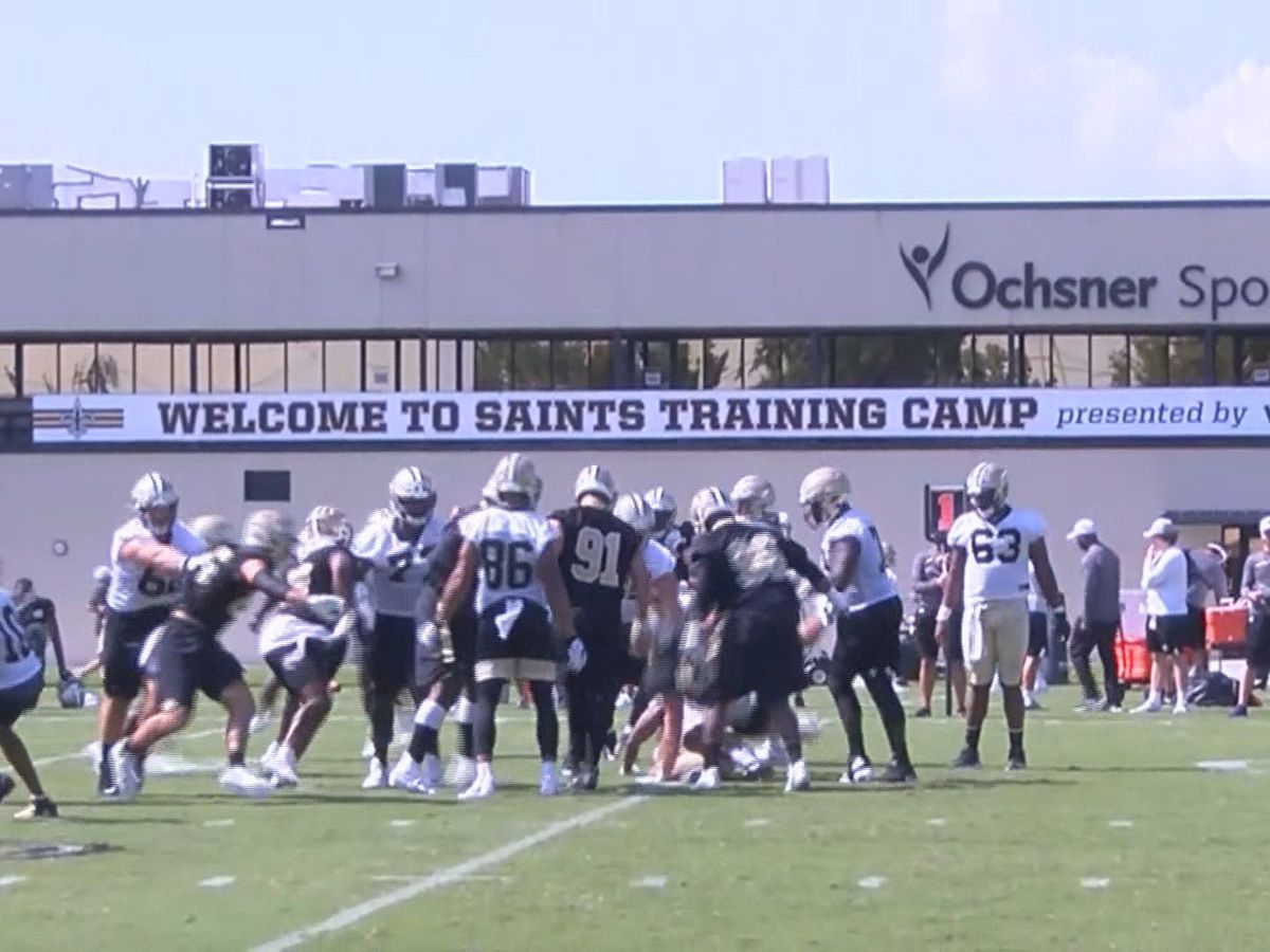 Day One of Saints 2019 Training Camp