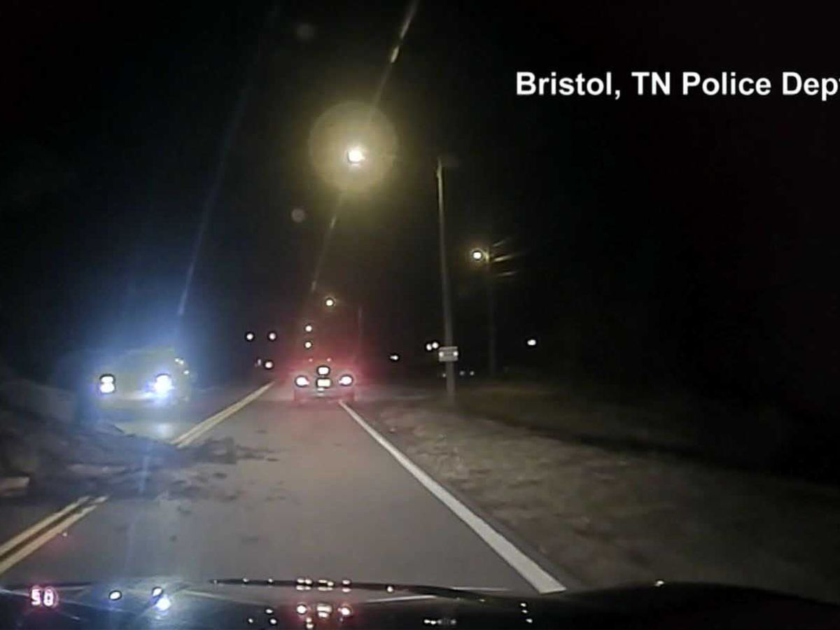 Dashcam video shows SUV going airborne and crashing into police cruiser