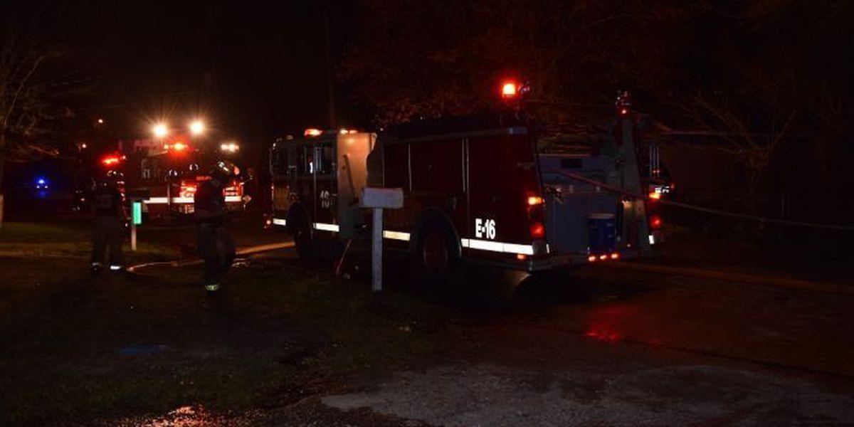 Suspicious overnight house fire in Gulfport