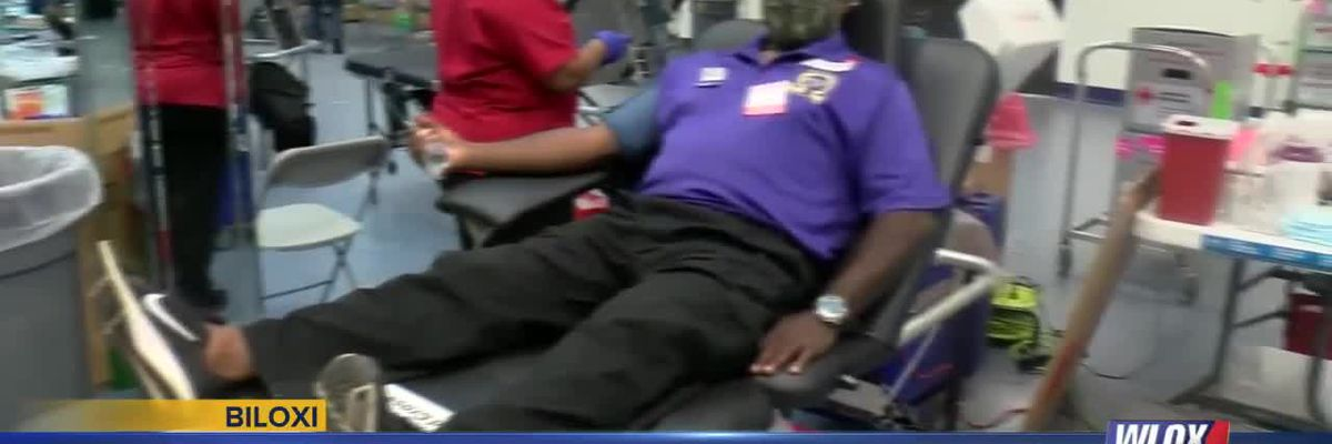 South Mississippi fraternity brothers hold annual blood drive