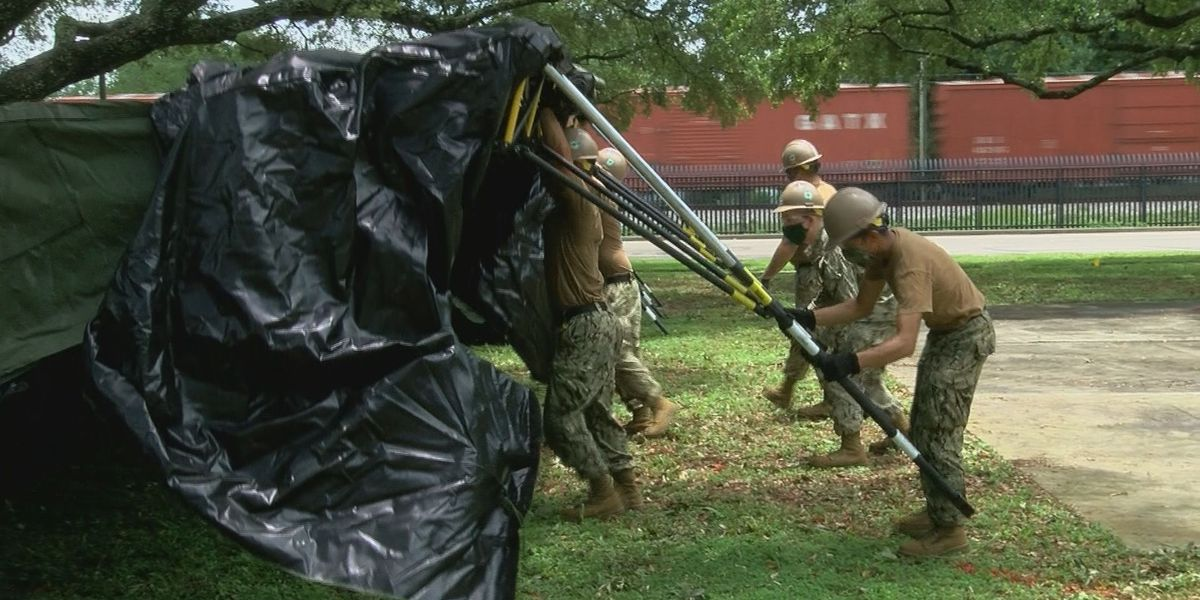 Seabees lend a helping hand at KAFB to assist airmen in basic training