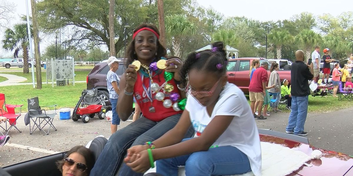 Olympic Gold Medalist serves as grand marshal for Krewe of Diamonds Parade