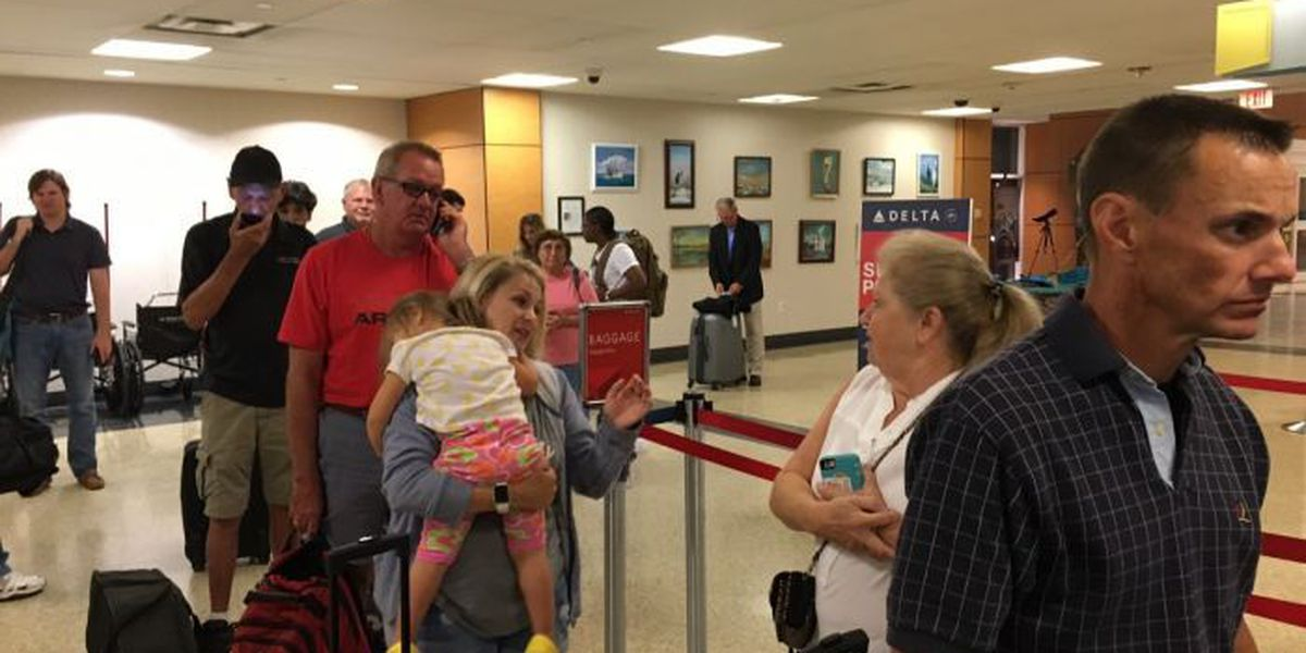 Delta flight groundings create problems in Gulfport