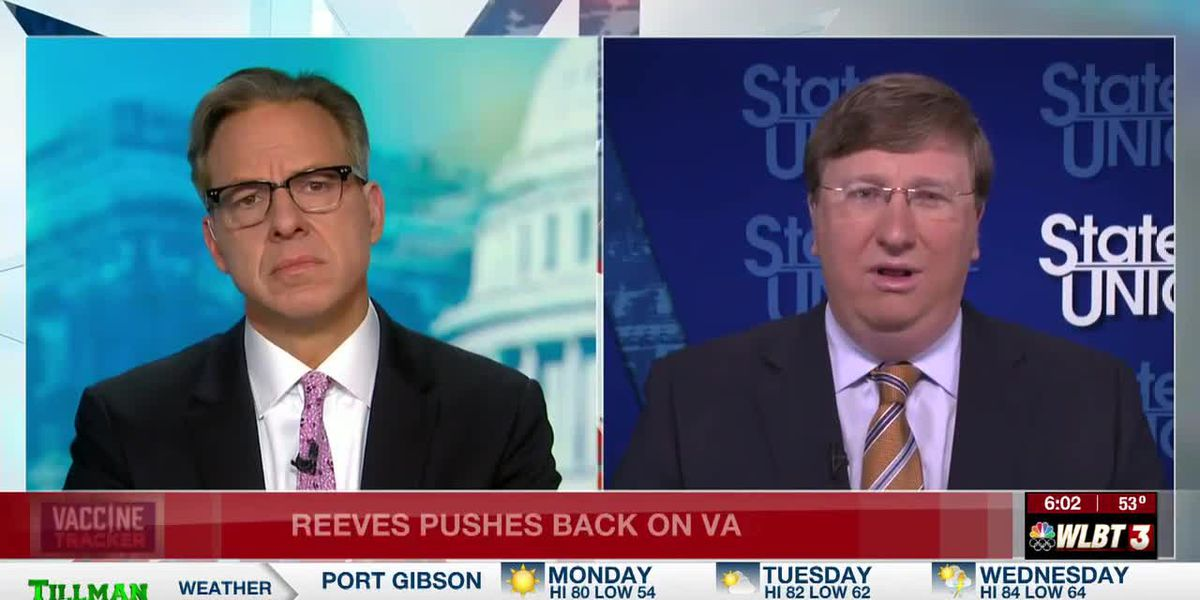 Reeves shares opinion of vaccine passports on CNN