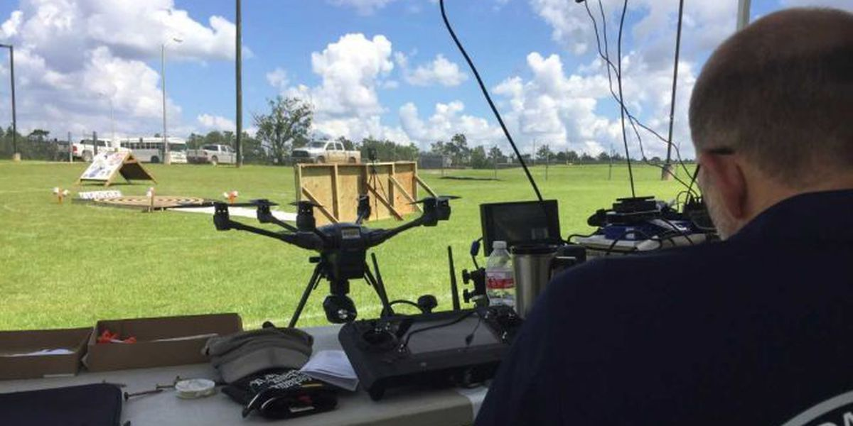 Camp Shelby new training ground for DHS drones