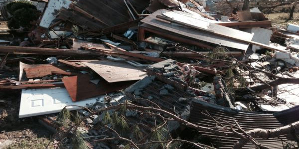 Pictures capture the destruction in tornado ravaged Columbia