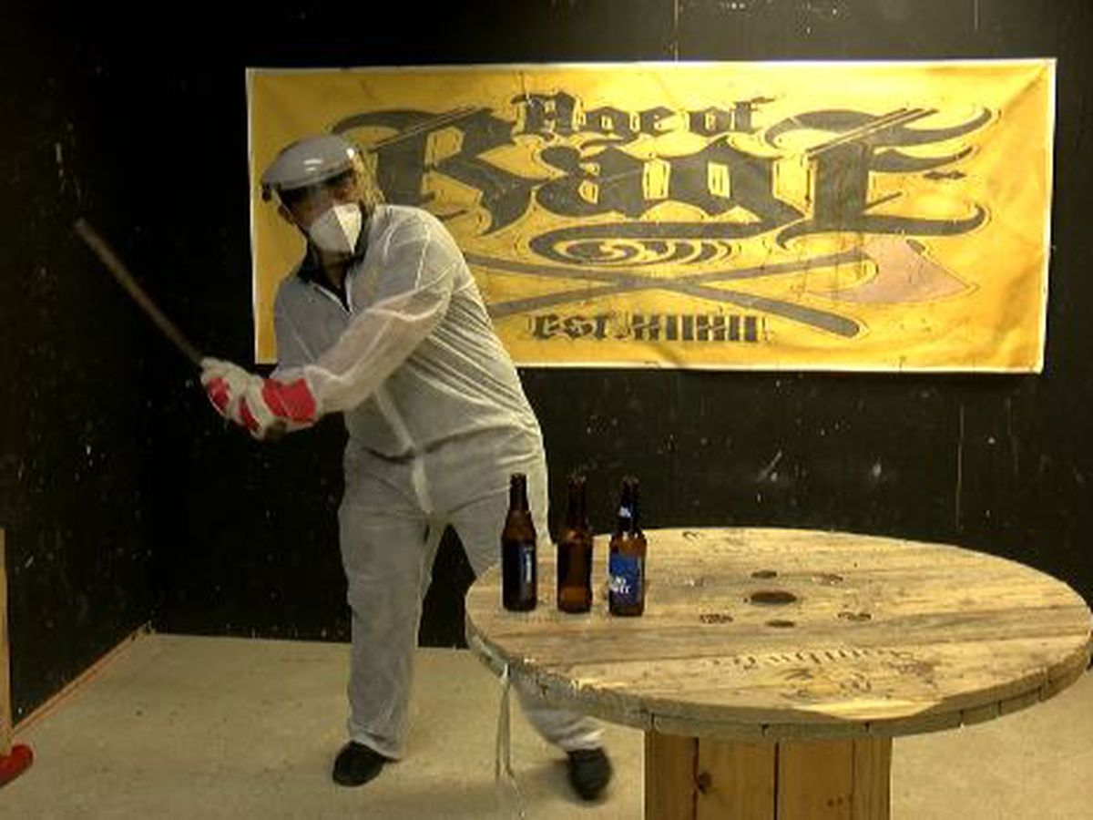 Let out your pent-up anger at the Coast's first-ever rage room