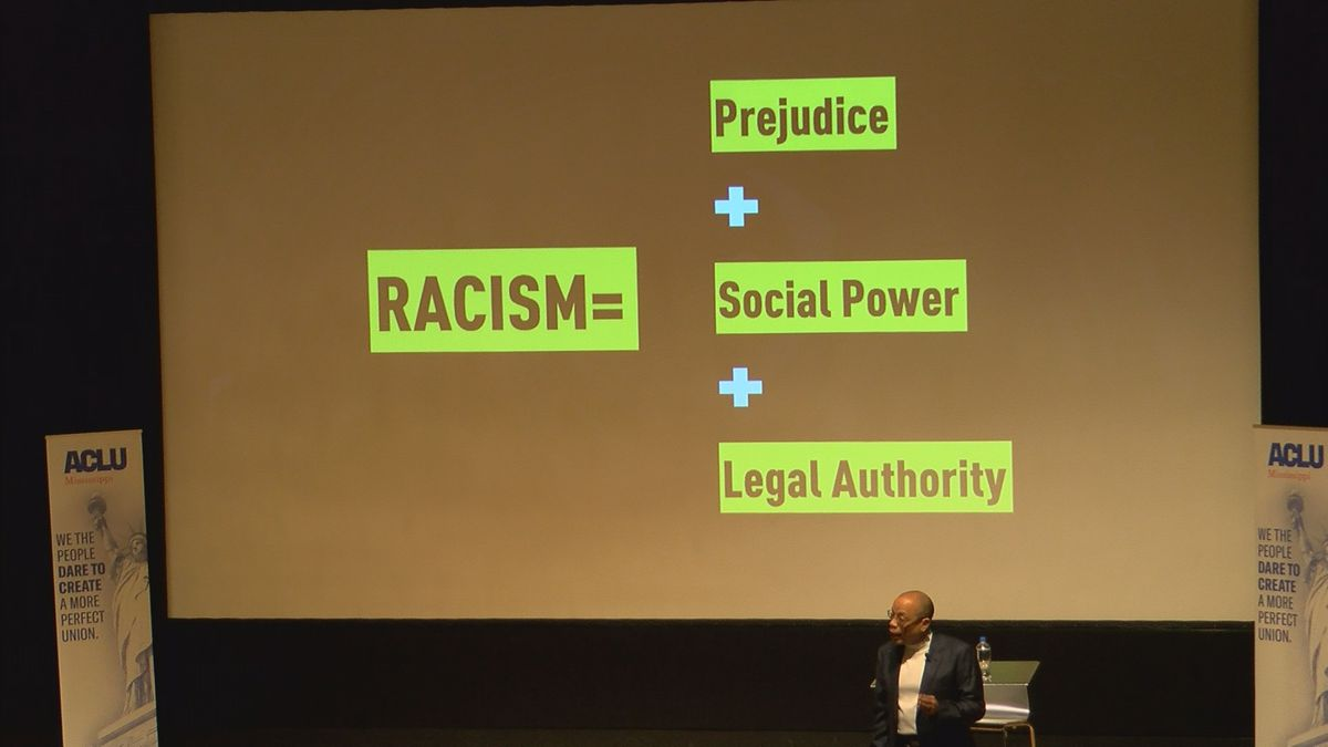 """""""Words matter"""": ACLU holds forum on race relations in Mississippi"""