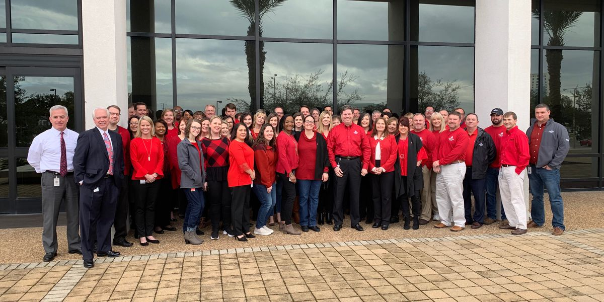 National Wear Red Day kicks-off American Heart Month on the Gulf Coast