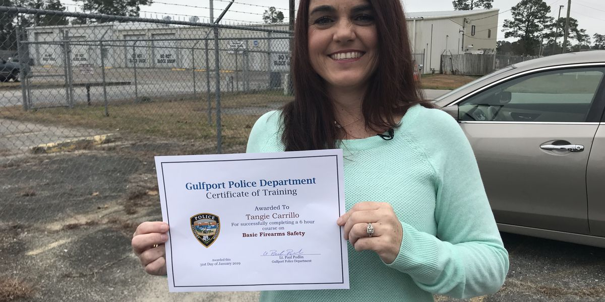 Gulfport woman triumphantly overcomes fear of guns
