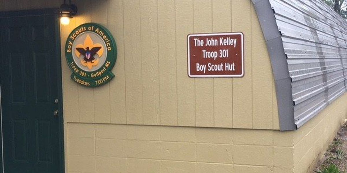 Boy Scouts Troop 301 dedicates building to WWII vet John Kelley