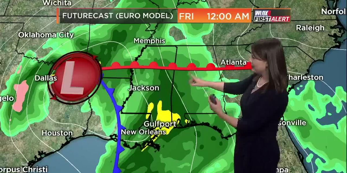 Taylor's Monday Evening First Alert Forecast
