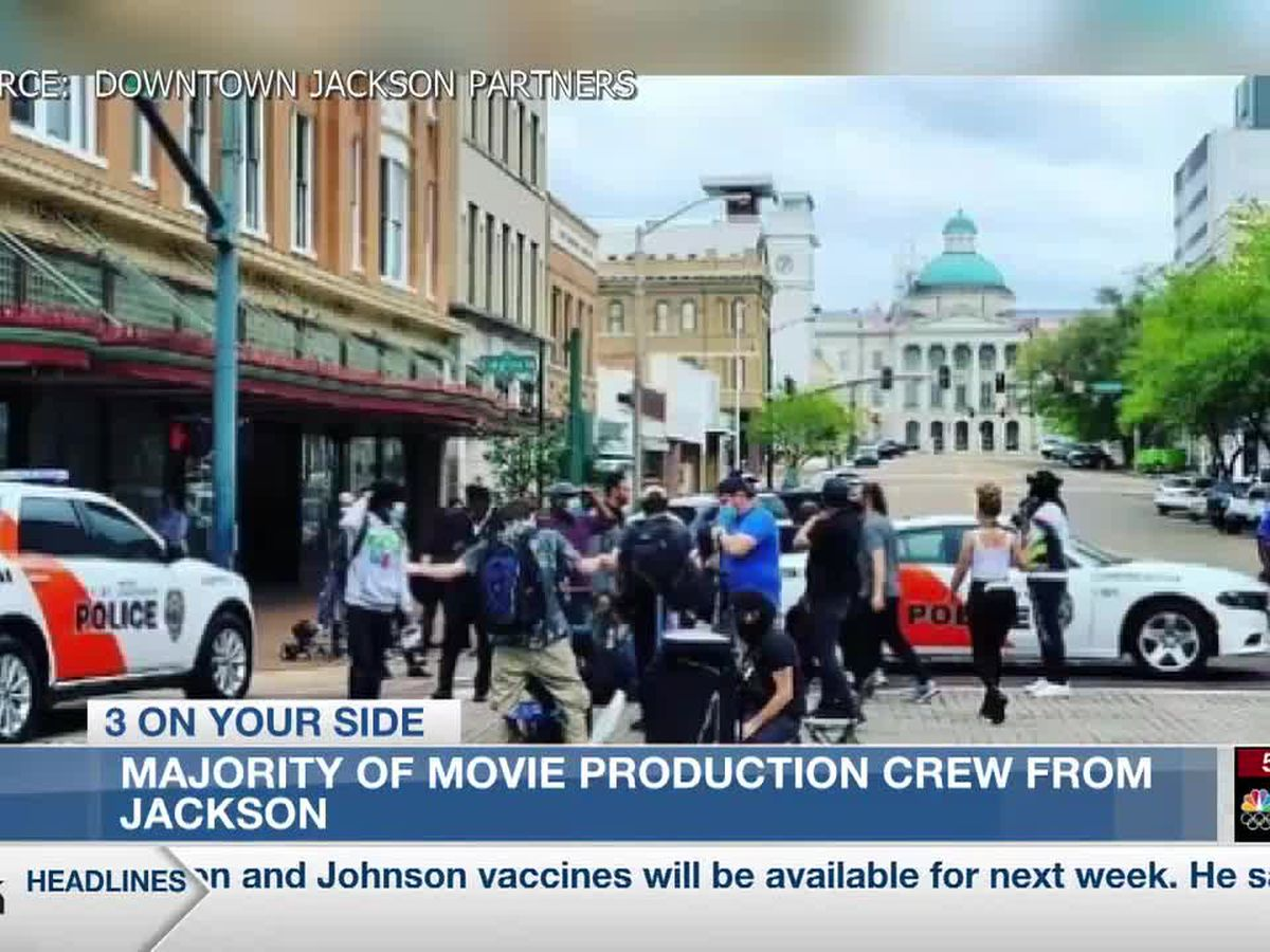 Locals behind the scenes in production of movie starring Bruce Willis