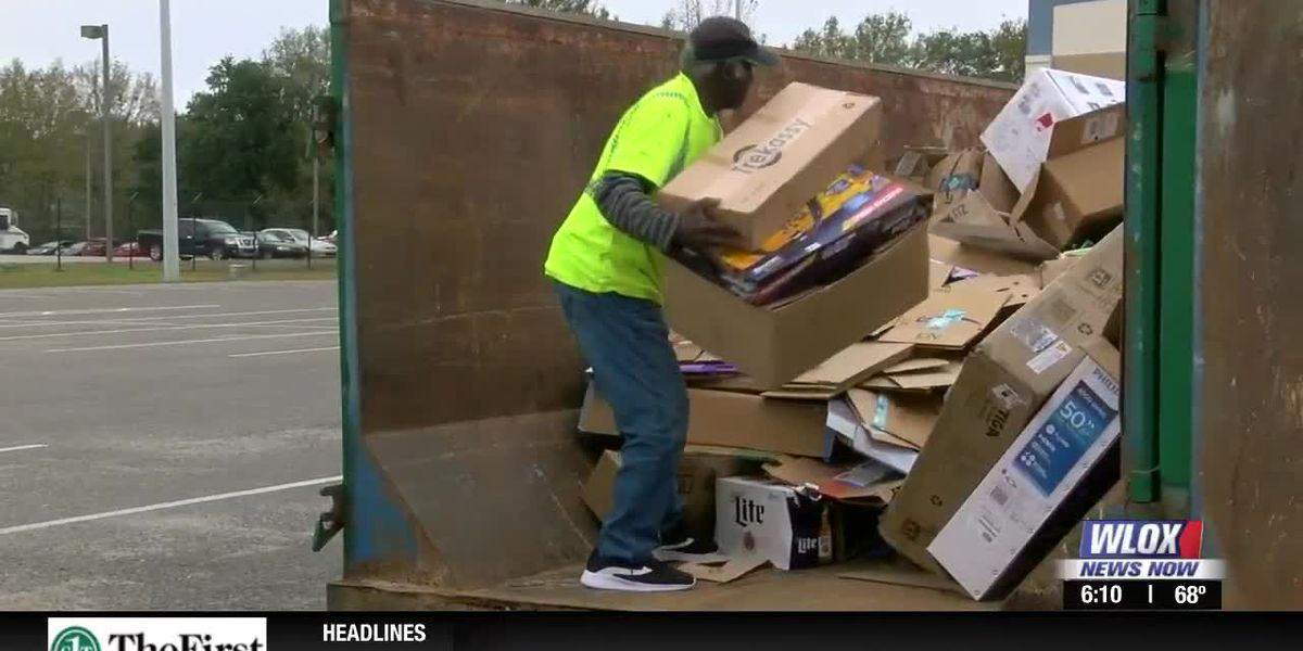 Christmas Cardboard Recycling Program another hit in Harrison County
