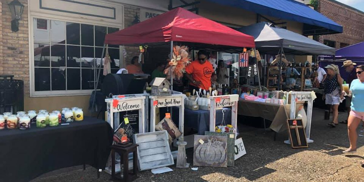 Thousands in downtown Pascagoula for annual Zonta Arts & Crafts Festival