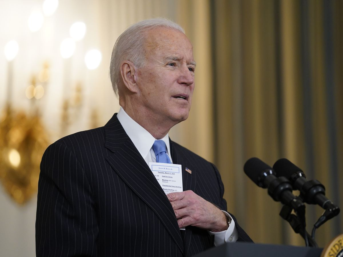 'Neanderthal thinking': Reeves, Biden at odds over COVID restrictions