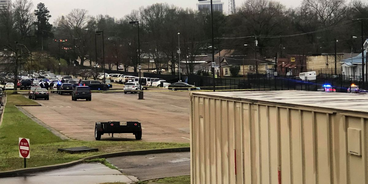 Two employees shot to death outside Baptist Hospital