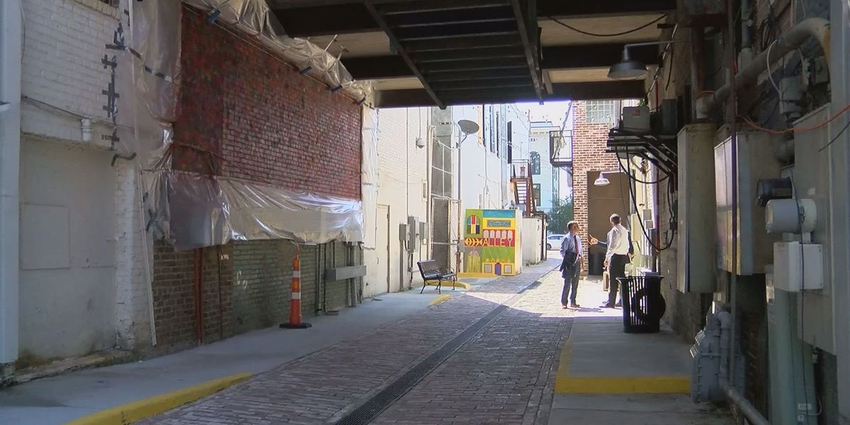Downtown Gulfport's Fishbone Alley nearly ready for launch party