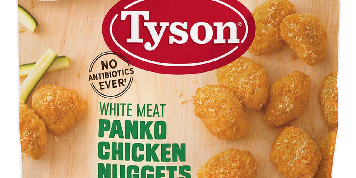 Over 30,000 pounds of Tyson Foods chicken nuggets recalled due to possible rubber contamination
