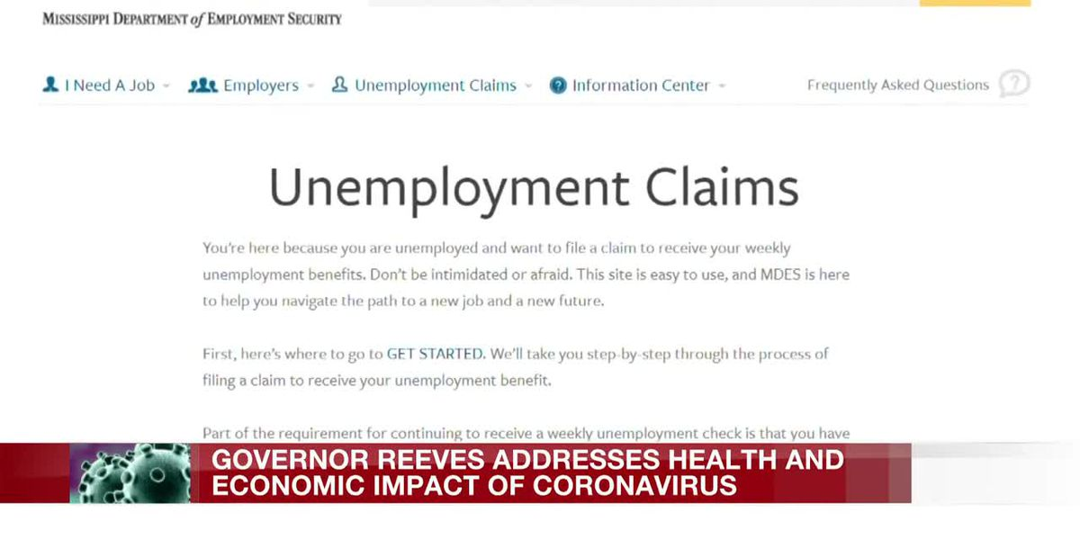 Mississippi sees 8,000% increase in unemployment claims since outbreak