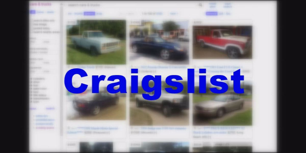 Action Report: Beware while purchasing a vehicle on internet web sites like Craigslist