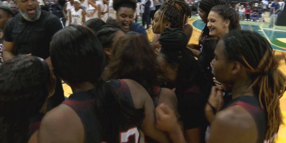 Harrison Central girls basketball wins quarterfinal thriller