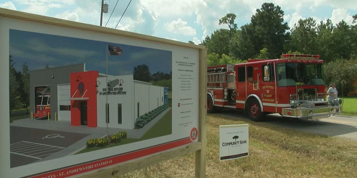 Gulf Park Estates St. Andrews fire department breaks ground on new fire station