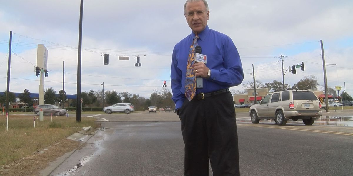 Changes to Landon Road across from Sam's Club and the Anchor Plaza on the way