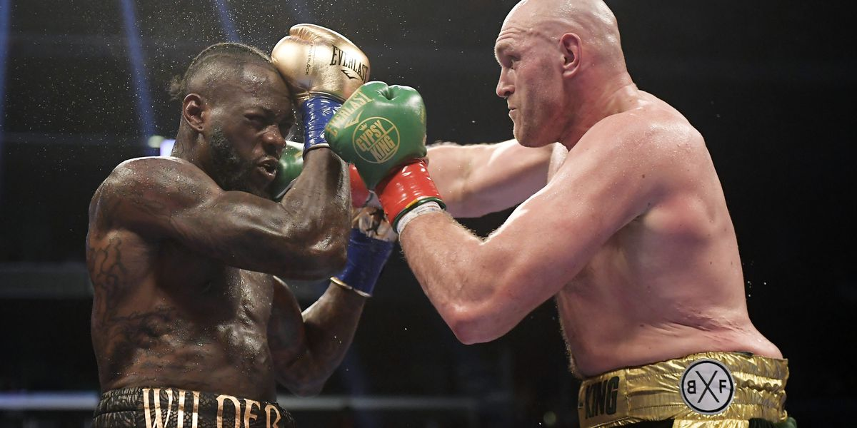 Tyson Fury hopes potential rematch with Wilder can happen at Old Trafford