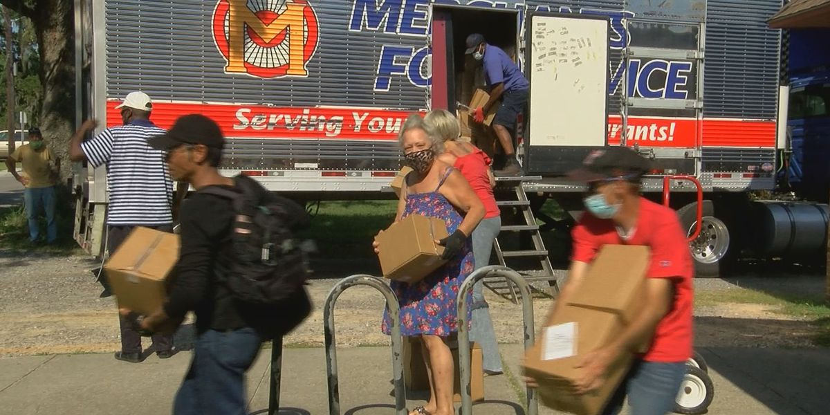 Food distribution program comes to abrupt end on the Coast
