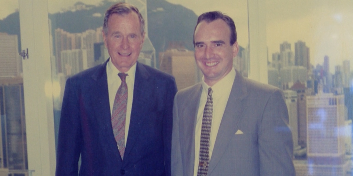 Visit Mississippi Director's experience as part of President George H.W. Bush's advance team