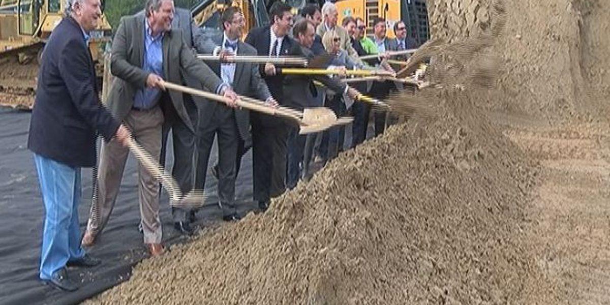 State, local officials break ground on new Lorraine Road Bridge
