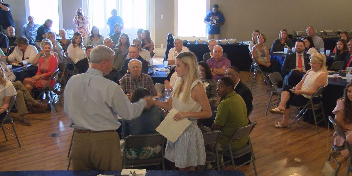 Rotary scholarships help solve state's 'Brain Drain'