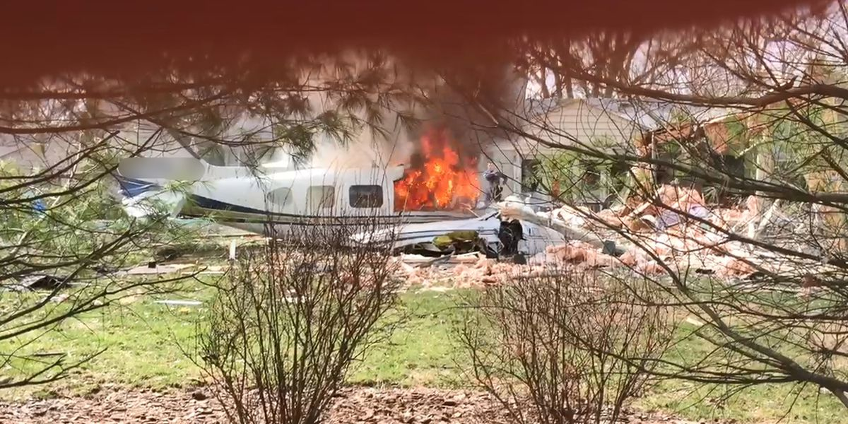 Pilot killed after plane registered to MS company crashes into Ohio home