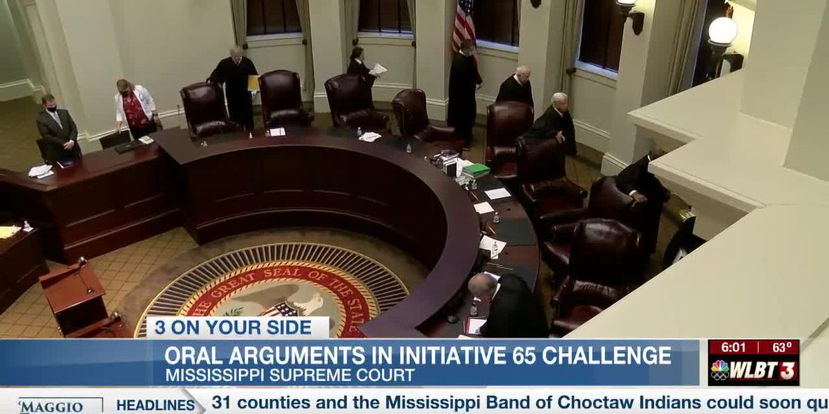 Mississippi Supreme Court hears oral arguments in Initiative 65 challenge