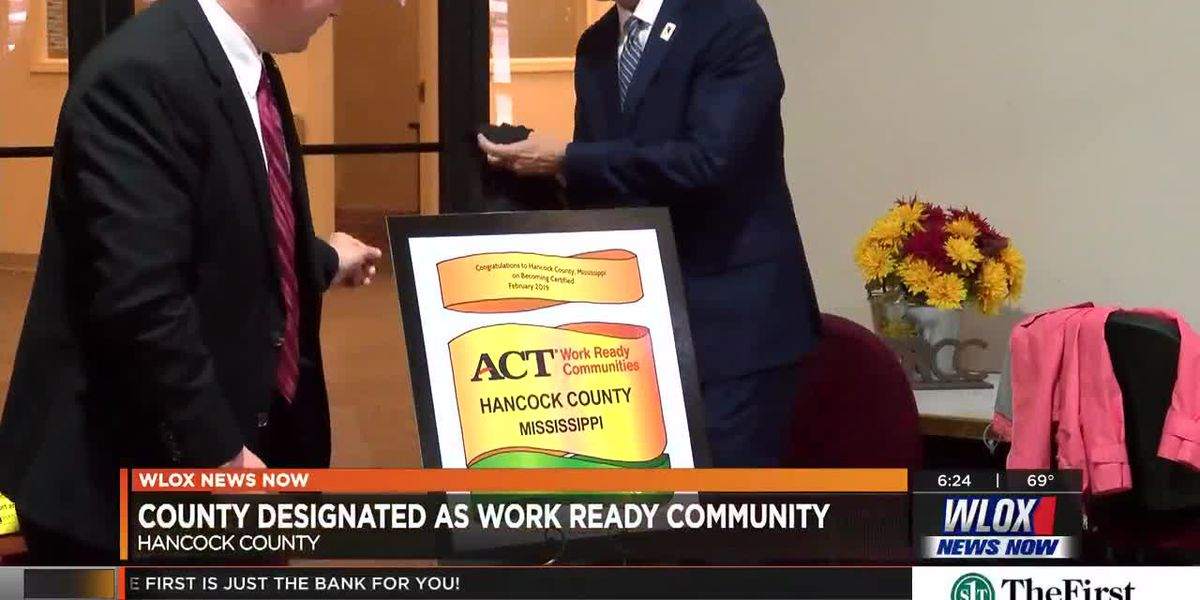 Hancock County now an ACT Work Ready Community