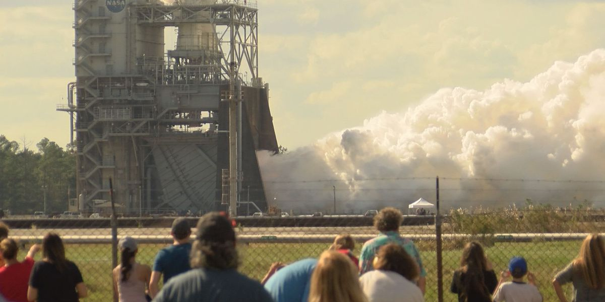 Public celebrates 'Making Fire and Rain' at Stennis