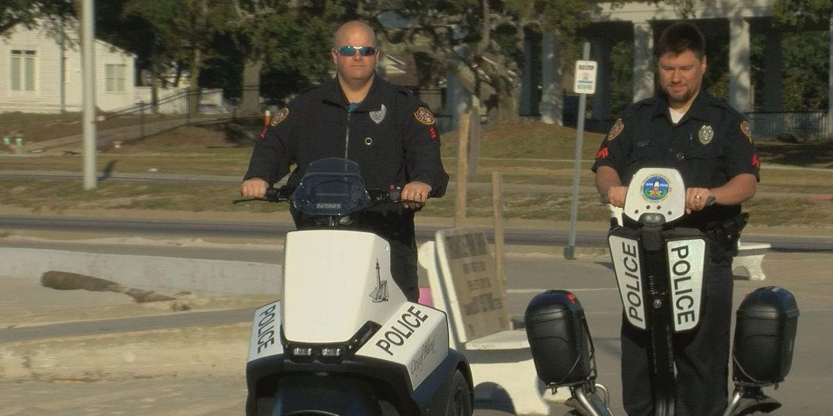 Biloxi police step up patrols with new segway