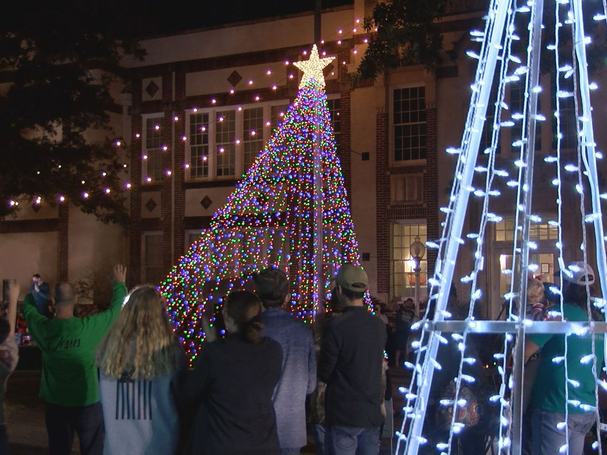 Christmas tree lighting in Ocean Springs goes on but with safety measures in place