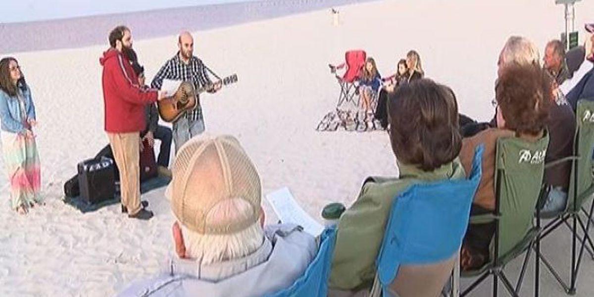 Coast Cruizers host non-denominational sunrise service in Biloxi