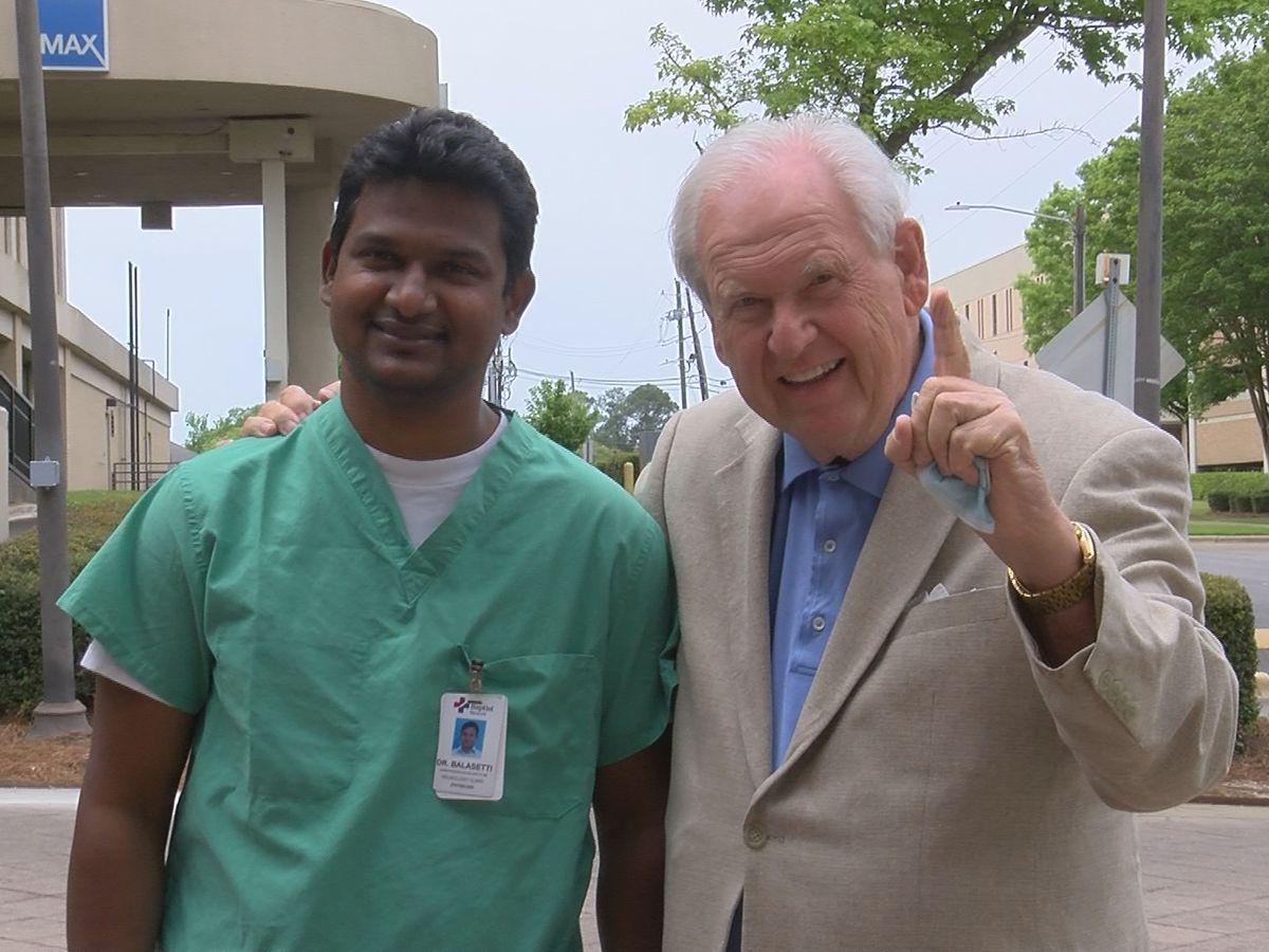 Breakthrough stroke treatment saves Troy man's life