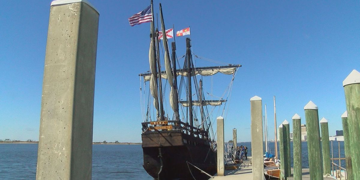 Replicas of Columbus' ships draw thousands for a hands-on history lesson