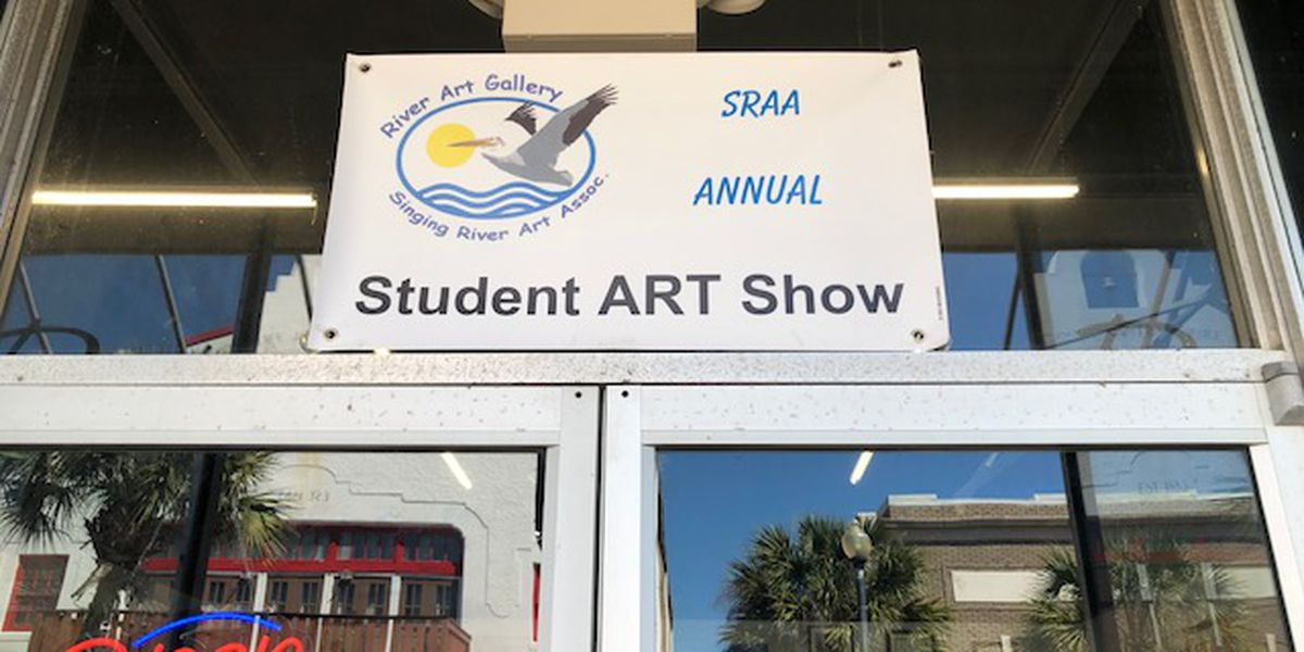 High schoolers create art for display in Pascagoula gallery